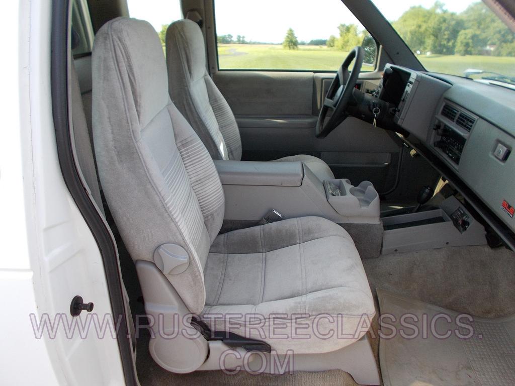 1993 93 Gmc Sonoma Sle 4x4 Four Wheel Extended Cab Sle White